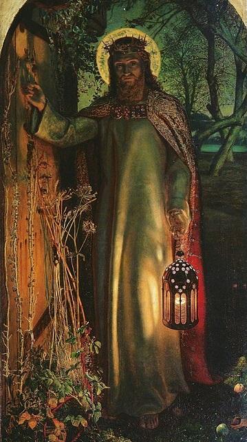 La luz del mundo (1852). Hunt.